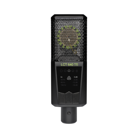 LEWITT LCT 640 TS microphone - change the polar pattern in postproduction