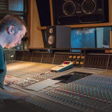 Alex Robinson recording with LEWITT mics at Metropolis Studios
