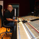 Supa Dups in studio with his DGT 650 reference USB Microphone