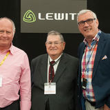 Mike van der Logt with John Skewes and Dennis Drumm