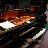Charly Klauser at Hansa Studios