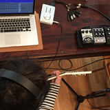 recording guitar at home