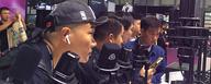 People testing new LEWITT microphones