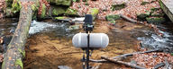 LCT 540 S recording a small creek