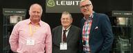 Mike van der Logt with John Skewes and Dennis Drumm